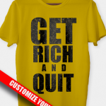 Glitter-Foil T-Shirt Print
